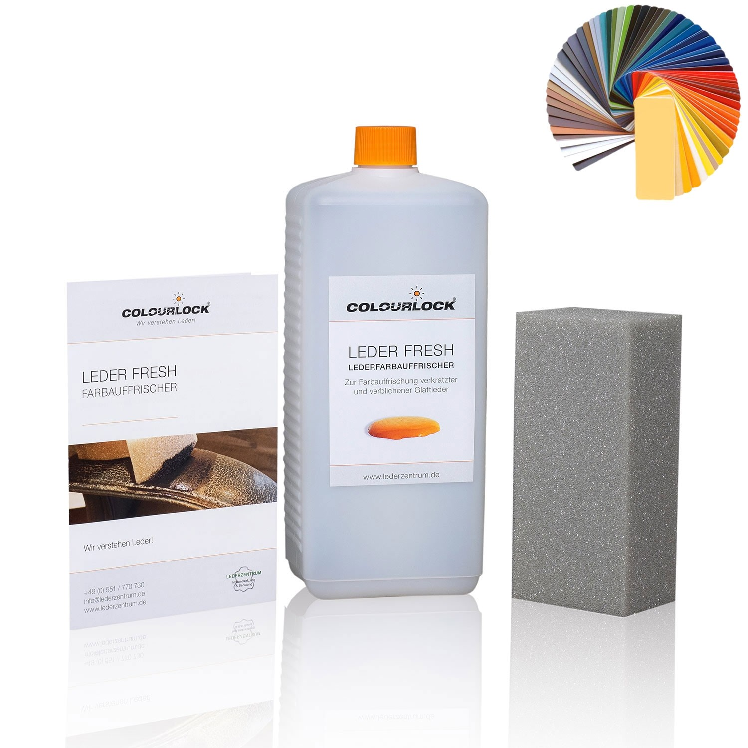 COLOURLOCK Leder Fresh Tönung, 1 Liter
