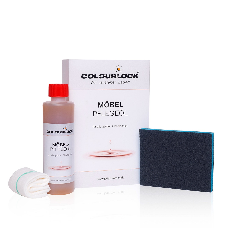 COLOURLOCK Möbelpflegeöl, 250ml mit Schleifpad